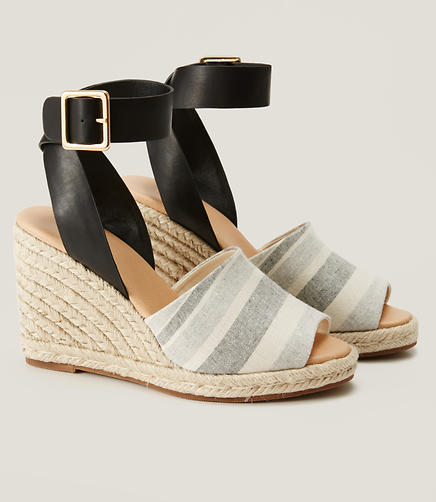 Image of Espadrille Wedge Sandals