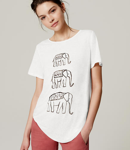 Image of Elephant Tee