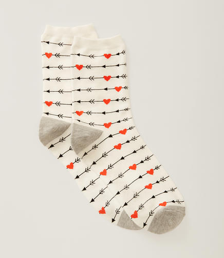 Image of Valentine Crew Socks