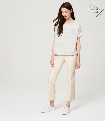 Image of Bi-Stretch Kick Crop Pants in Julie Fit