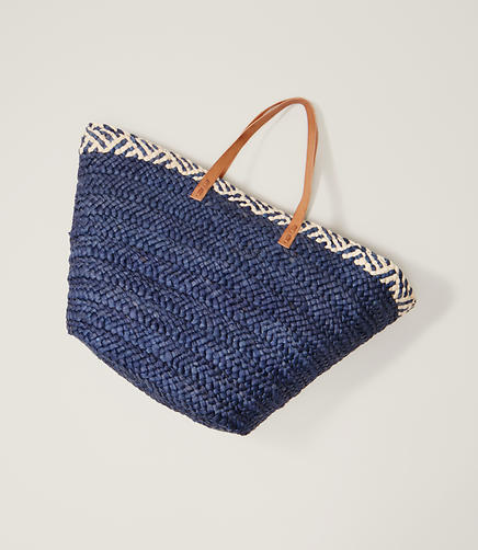 Image of LOFT Beach Straw Bag