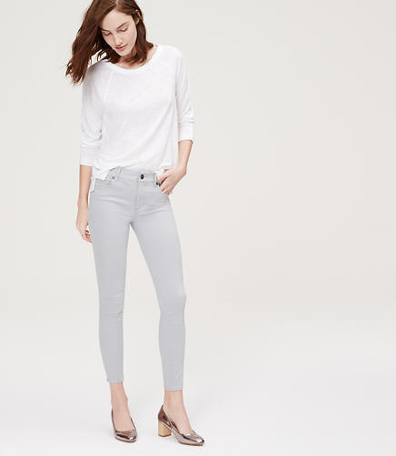 Image of Petite Sateen Five Pocket Leggings
