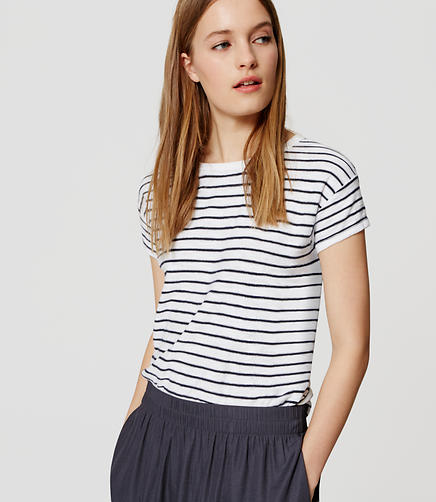Image of Striped Texture Tee