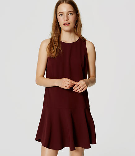 Image of Sleeveless Flounce Dress