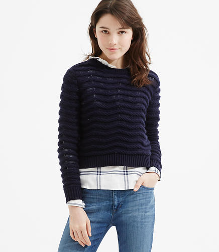 Image of Lou & Grey Ropestripe Sweater