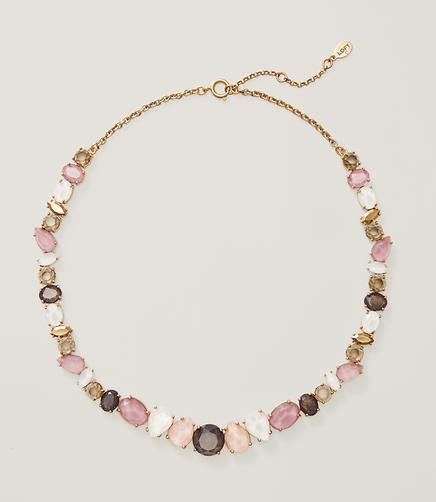 Image of Mixed Crystal Necklace