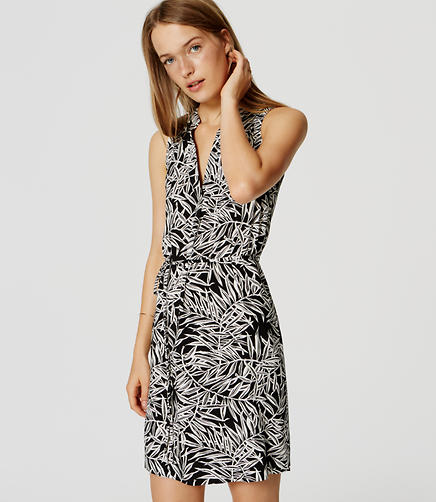 Image of Fern Sleeveless Shirtdress