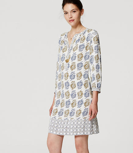 Image of Jardin Henley Shirtdress