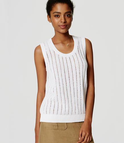 Image of Texture Stitch Tank