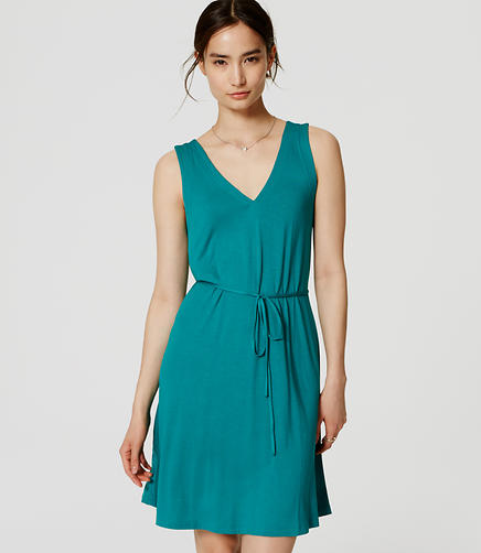 Image of Tie Swing Dress
