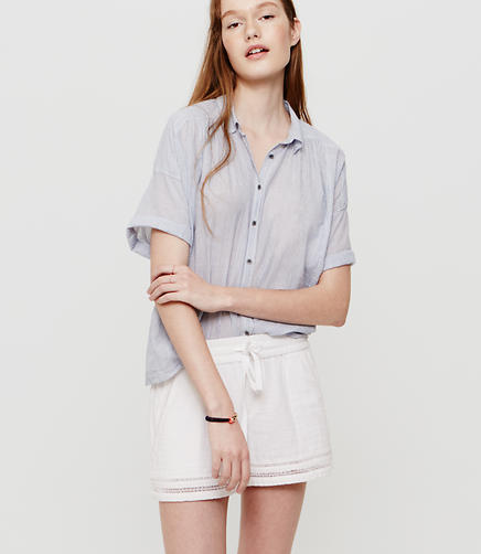 Image of Lou & Grey Pinstripe Dolman Shirt