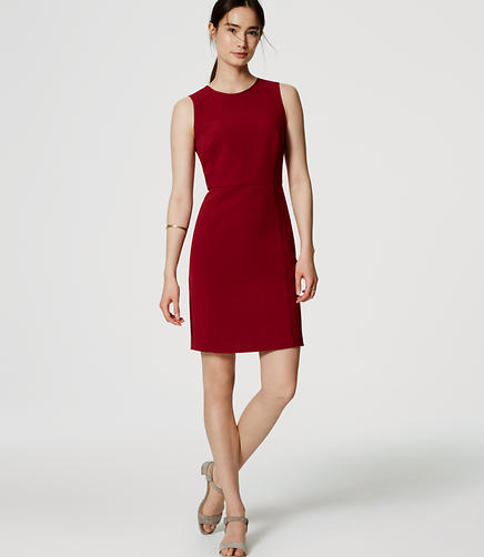 Image of Petite Paneled Sheath Dress
