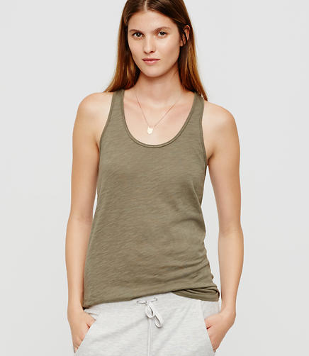 Image of Lou & Grey Airy Cotton Racerback