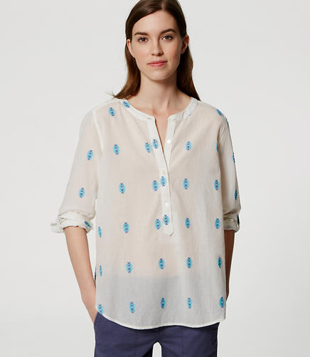 Image of Desert Henley Softened Shirt