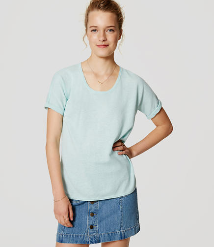 Image of Relaxed Short Sleeve Top