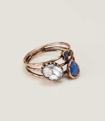 Image of Cobalt Stackable Ring