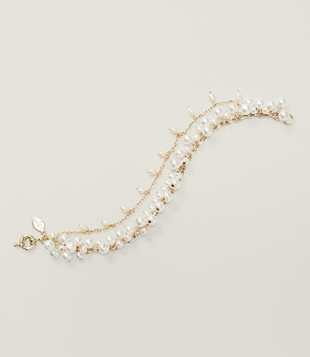 Image of Pearly Layered Bracelet