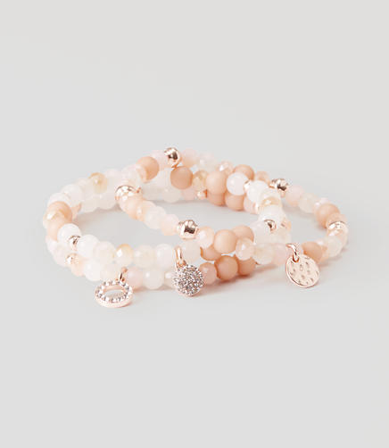 Image of Stretch Charm Bracelet Set