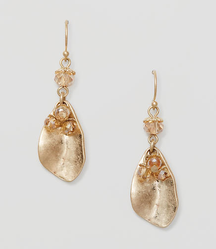 Image of Petal Drop Earrings