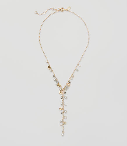 Image of Pearlized Y Necklace