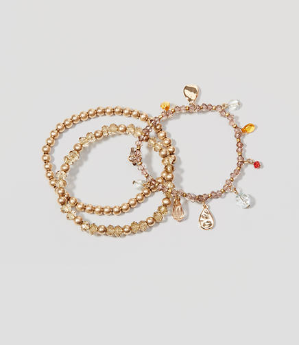 Image of Harvest Stone Stretch Bracelet Set