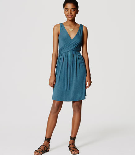 Image of Tall Double V Flare Dress