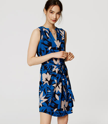 Image of Sleeveless Shirtdress