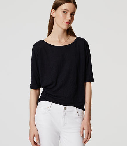 Image of Relaxed Linen Tee