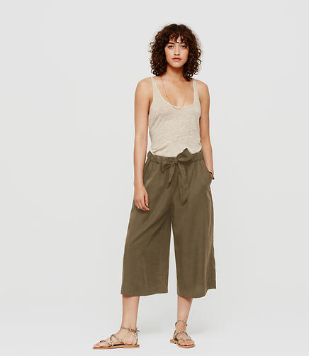 Image of Lou & Grey Tie Culottes