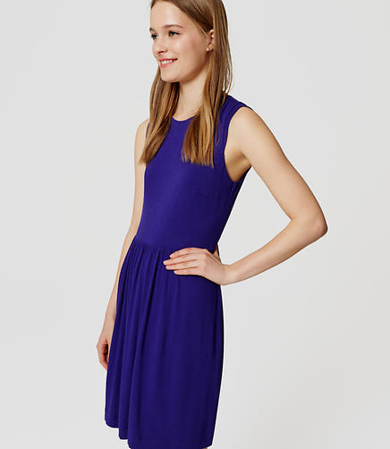 Image of Cap Sleeve Flare Dress