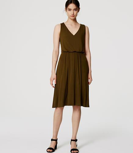 Image of Petite Blouson Dress
