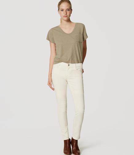 Image of Modern Skinny Corduroy Pants