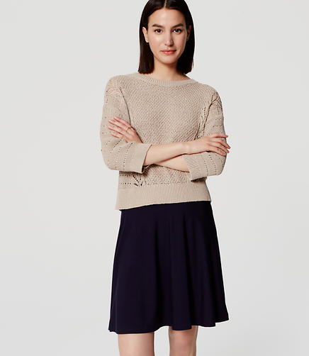 Image of Knit Circle Skirt