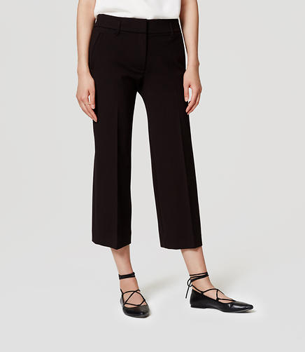Image of Cropped Ponte Trousers