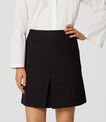 Image of Front Pleat Skirt