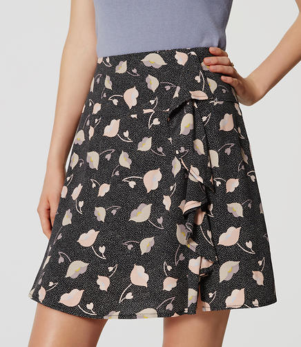 Image of Floral Fresco Skirt