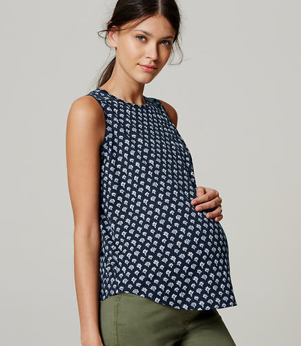 Image of Maternity Floral Vintage Soft Shell