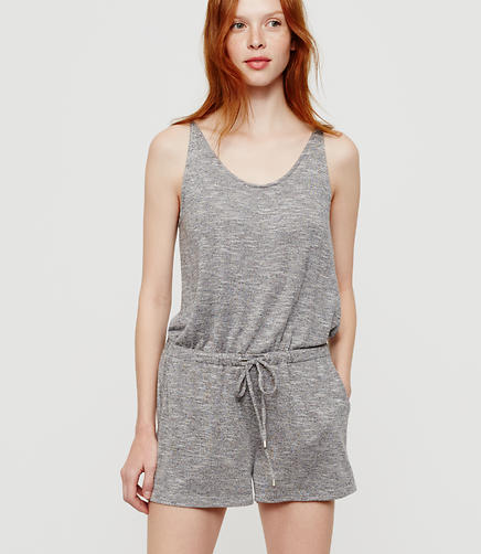 Image of Petite Lou & Grey Heathered Bare Jumpsuit