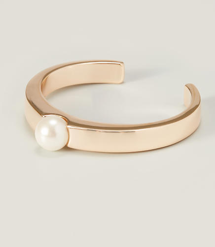 Image of Pearlized Cuff Bracelet