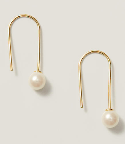 Image of Modern Pearlized Earrings