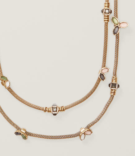Image of Multistrand Station Necklace