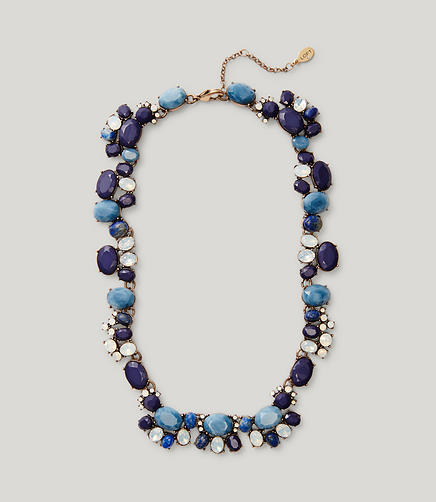 Image of Blue Mixed Stone Necklace