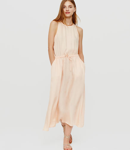 Image of Lou & Grey Luster Cutout Midi Dress