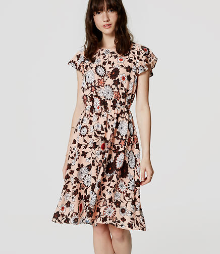 Image of Floral Flutter Dress