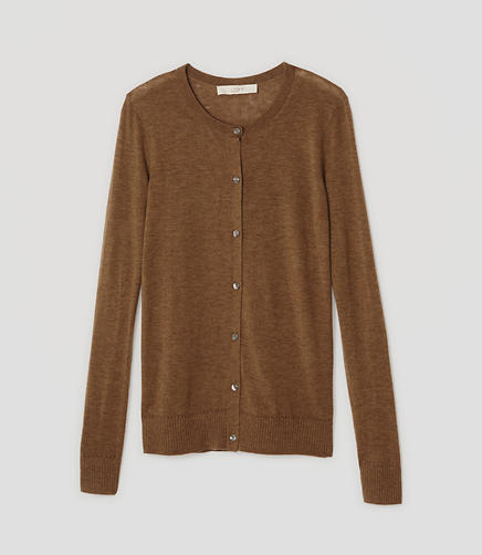 Image of Crew Neck Cardigan