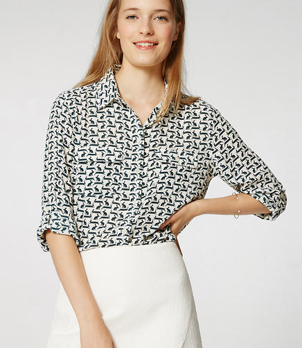 Image of Rabbit Utility Blouse