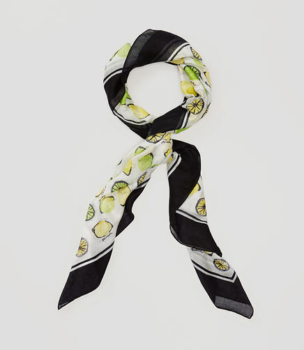 Image of Lemon and Lime Scarf