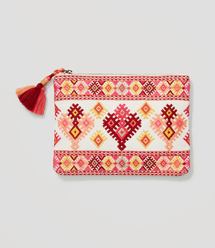 Image of Embroidered Pouch