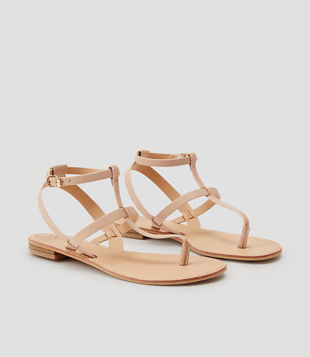 Image of Strappy Thong Sandals