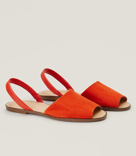 Image of Slingback Peeptoe Sandals